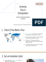 Armenia Visa & Immigration