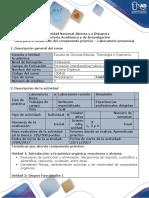 Guía Para El Dearrollo Del Componente Práctico - Laboratorio Presencial