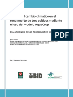 Informe Final_ Efectos Del CC en El Rendimiento de Cultivos Agrícolas
