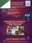 DIMENSIONES DE LA SEGURIDAD HUMANA QUE EL ESTADO DEBE PROTEGER..pptx