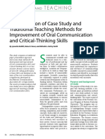 A Comparison of Case Study And