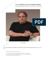 How Linux Was Born, As Told by Linus Torvalds Himself _ Ars Technica