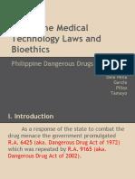 Dangerous Drugs Law