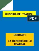 Historia Del Teatro i