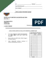 TRIAL MATE Pmr 2010 Sabah Paper 2