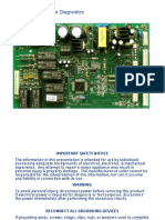 GE Electronic Refrigerator AC Diagnostics Manual