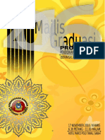 Buku Aturcara Majlis Graduasi Pendidikan Khas 20162