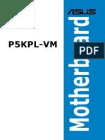 e3286 p5kpl-Vm Manual