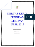 Program Selepas Upsr 2017