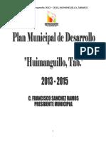 Plan Municipal de Desarrollo 2013-2015