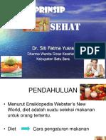 Prinsip Diet Sehat