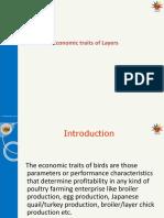 Theory-5 Economic Traits of Layers