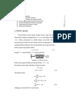 Metode Lagrange Dan Mekanika Hamilton