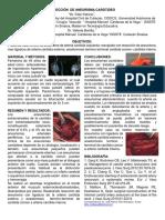 Cartel - Resección de Aneurisma Carotideo