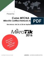 Curso Mikrotik Mtcna Landatel Barcelona 26-09-16
