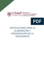 Tarea N° 1.3 Instrucciones - Monografia