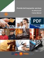 TM Provide Bell Boy-porter Services Refined