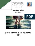 1-CICLO I Fundamentos de Nuestra Fe