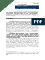 Sobre Derechos. Roberto Jimenez
