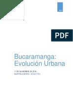 Bucaramanga Evolución Urbana
