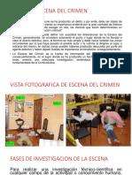 INSPECCION  CRIMINALISTICA