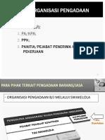 (1) Organisasi Pengadaan Swakelola Pp54 Okt
