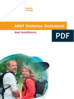 Dutch Anal Incontinence Physiotherapy Guidelines