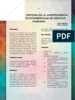 DERECHO DE DEFENSA CIDH