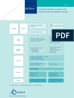 Dutch COPD Physiotherapy Flowchart