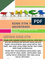 Kode Etik Profesi Akuntansi_kel 4