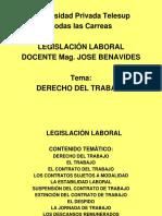 Dcho Del Trabajo Diapositivas (1)