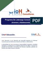 CRIOH  Presentación Gral.DJC  en Escuelas
