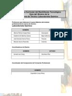 Laboratorista Qumico Ga m2s3