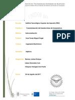 Practica1 Caracterizacion de Transductores de Temperatura