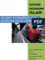 Islamic Economics is Part of the Islamic Fundamentalist Movement Gaining Ground in Large Parts of the Muslim World