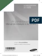 Manual de instalação ar condicionado piso teto