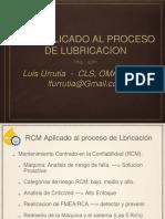 Luis Urrutia Aplicando El Rcm Al Proceso de Lubricacion
