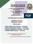 Constantes Elasticas - Informe N°1