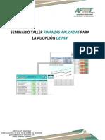 Modulo i Finanzas Aplicadas Para La Adopcion de Niif