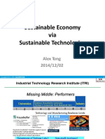 01- Sustainable Economy via Sustainable Technologies