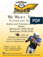 Tannenkirch Eagles Flyer(German)