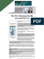 5 Dancing Isralies of 911