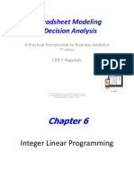 Chap06 Integer Linear Programming