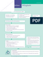 Dutch Whiplash-Associated Disorders Physiotherapy Flowchart