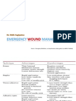 Emergency Wound Management