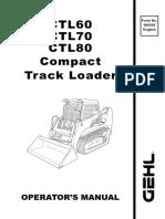 GEHL CTL 60   Personal Protective Equipment   Elevator Gehl Ctl Alternator Wiring Diagram on