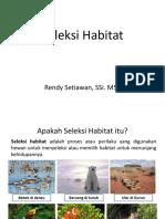 Seleksi Habitat