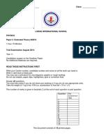 2014 Yr11 Trial Paper 3 Copy