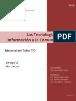 Material Taller TIC 2016 Unidad 2 Hardware v2 0