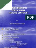 Trip Distribusi Metode Sintetis